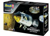 Revell 1/32 3703 Apollo 11 Spacecraft with Interior Gift Set