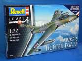 Revell 1/72 3908 100 years RAF British Legends: Hawker Hunter FGA.9