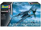 Revell 1/32 3926 Focke Wulf Fw190A-8, A-8/R11 Nightfighter