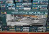 Revell 1/72 5002 German Fast Attack Craft and Flak 38