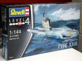 Revell 1/144 5140 German Submarine TYPE XXIII