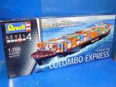 Revell 1/700 5152 Container Ship COLOMBO EXPRESS
