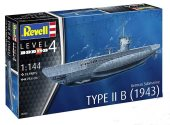 Revell 1/144 5155 German Submarine Type IIB (1943)