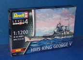 Revell 1/1200 5161 HMS King George