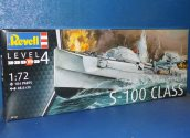 Revell 1/72 5162 German Fast Attack Craft S-100