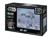 Revell 1/53 5680 Star Wars AT-AT 40th Anniversary Gift Set