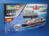 Revell 1/1200 5692 125 Years of Hurtigruten Ferries Gift Set (2  Kits)