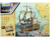 Revell 1/125 5767 Battle of Trafalgar Gift Set - HMS Victory