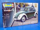 Revell 1/24 7035 VW Beetle Police