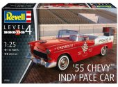 Revell 1/25 7686 1955 Chevy Indy Pace Car