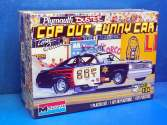 Revell Monogram 1/24 4093 TOM DANIEL Plymouth Duster Cop Out