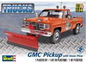 Revell Monogram 1/24 7222 GMC Pickup w/ Snow Plow