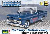 Revell Monogram 1/25 7225 1966 Chevy Fleetside Pickup