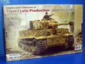 Rye Field 1/35 5015 Tiger I Tank - Late Production