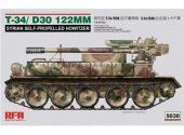 Rye Field 1/35 5030 T-34/D-30 122Mm Syrian Self-Propelled Howitzer