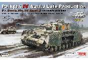 Rye Field 1/35 5033 Pz.Kpfw.IV Ausf.J Late Production Pz.Beob.Wg.IV Ausf. J 2 in 1