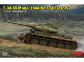 Rye Field 1/35 5040 T-34/85 Model 1944 No.174 Factory