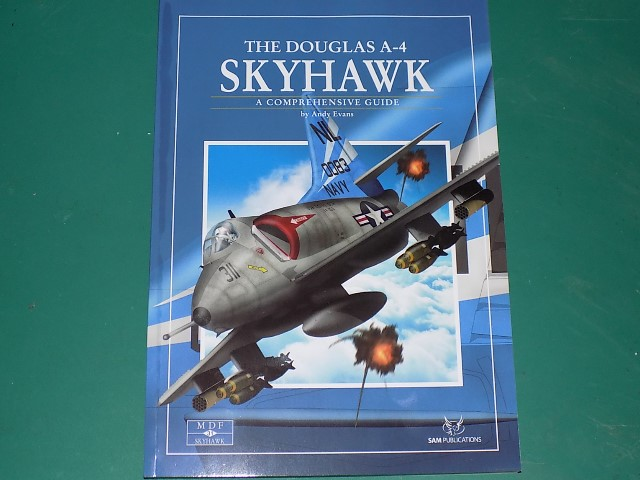 Sam Publications - MDF31 Modellers Datafile - Skyhawk