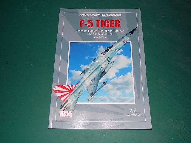 Sam Publications - MDFSD5 Modellers Datafile Scaled Down - F-5 Tiger