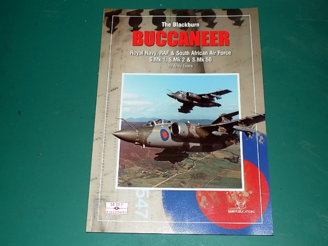 Sam Publications - MDFSD6 Modellers Datafile Scaled Down - Blackburn Buccaneer