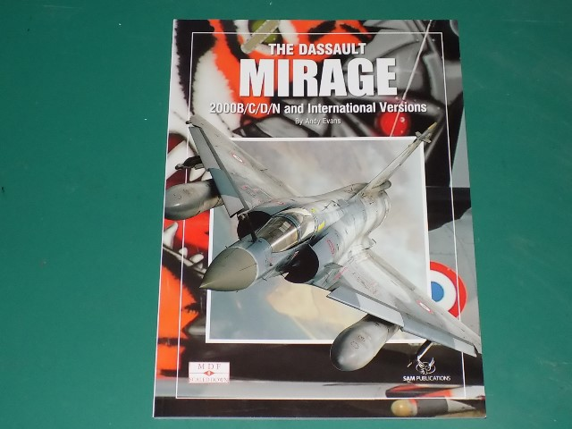 Sam Publications - MDFSD8 Modellers Datafile Scaled Down - The Dassault Mirage 2000B/C/D/N