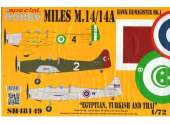 Special Hobby 1/48 48149 Miles M.14 Hawk III/ Magister Mk.I Egyptian, Turkish and Thai