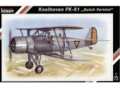 Special Hobby 1/72 72048 Koolhoven FK 51 'Dutch version'