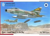 Special Hobby 1/72 72345 SMB-2 Super Mystere 'Sa'ar-Israeli Storm in the Sky'