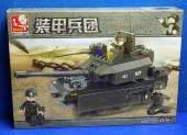 Sluban - 0287 Tank w/ Figures 219pcs - Compatible Building Bricks
