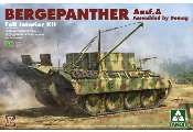 Takom 1/35 2101 Bergepanther Ausf.A Full Interior Kit Demag