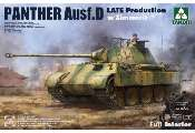 Takom 1/35 2104 Panther Ausf. D Late Production w/ Zimmerit