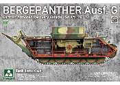 Takom 1/35 2107 Bergepanther Ausf.G German SdKfz 179 Full Interior