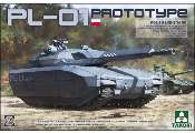 Takom 1/35 2127 PL-01 Prototype Polish Light Tank