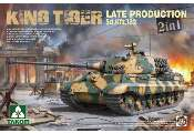 Takom 1/35 2130 WWII German Heavy Tank SdKfz 182 King Tiger Late Production 2 in 1