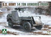 Takom 1/35 2131 US Army 1/4t Amored Truck
