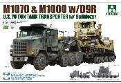 Takom 1/72 5002 M1070 and M1000 Tank Transporter with D9R Bulldozer