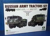 Takom 1/72 5003 Russian Army Tractors - KZKT-537L and MAZ-537
