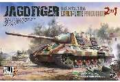 Takom 1/35 8001 SdKfz 186 Jagdtiger Early/Late production 2 in 1 - Blitz Version