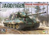 Takom 1/35 8003 Jagdtiger Porsche Production Type Sd.Kfz.186