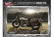 Thunder Model 1/35 35003 U.S. Military Motorcycle Indian 741B (2 Kits)