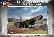 Thunder Model 1/35 35208 Scammell Pioneer TRCU30 Goose Neck Trailer