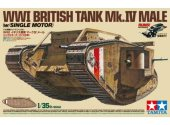Tamiya 1/35 30057 WWI British Tank Mk.IV Male w/Single Motor