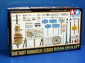 Tamiya 1/48 32509 Road Sign Set
