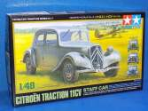 Tamiya 1/48 32517 Citroen Traction IICV Staff Car