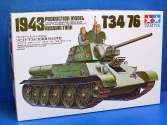 Tamiya 1/35 35059 Russian Tank T34/76 1943 LTD