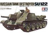 Tamiya 1/35 35093 SU-122 Russian Tank Destroyer