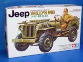 Tamiya 1/35 35219 Jeep Willys MB. 1/4-Ton Truck