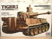 Tamiya 1/35 35227 Tiger I Initial Production Africa
