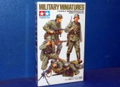 Tamiya - WWII German Infantry x 4 (French Campaign) 1/35 #35293