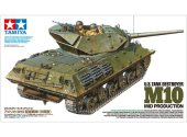 Tamiya 1/35 35350 M10 US Tank Destroyer - Mid Production